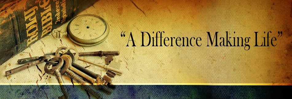 A Difference making life-